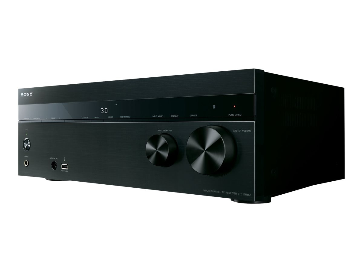 Sony 5.2-Channel AV Receiver, STRDH550