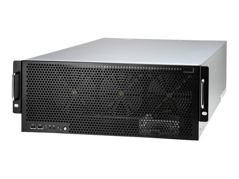 Tyan Barebone, FT72 4U RM, Intel 5520, Max 144GB DDR3, M2075, 2400W 2+1 RPS