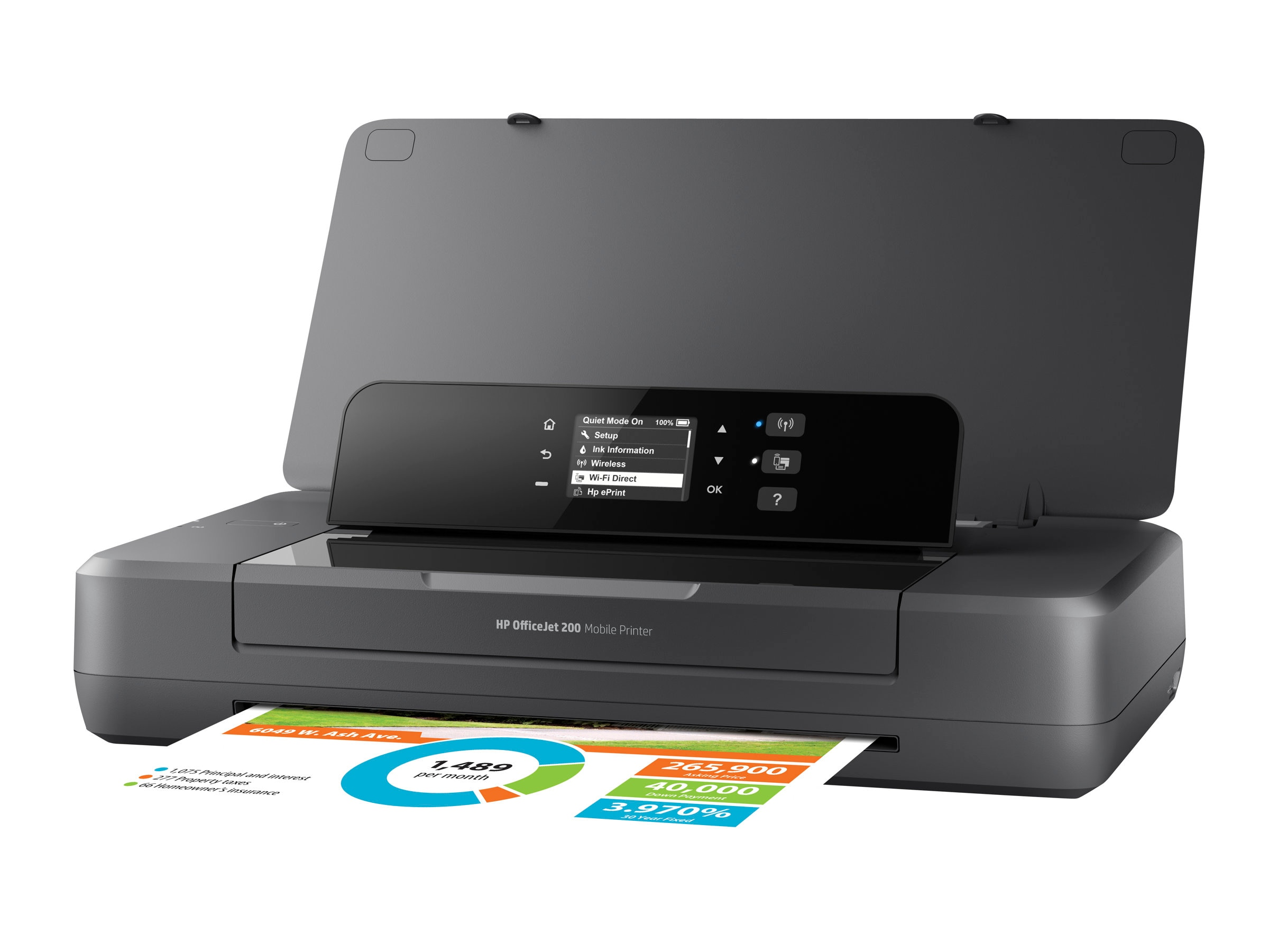 HP Officejet 200 Mobile Printer ($279.99-$80 IR = $199.99. Expires 8 31 2017)