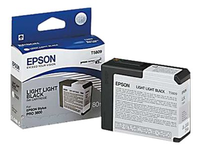 Epson Light Light Black UltraChrome K3 Ink Cartridge for Stylus Pro 3800 3800 Professional Edition, T580900