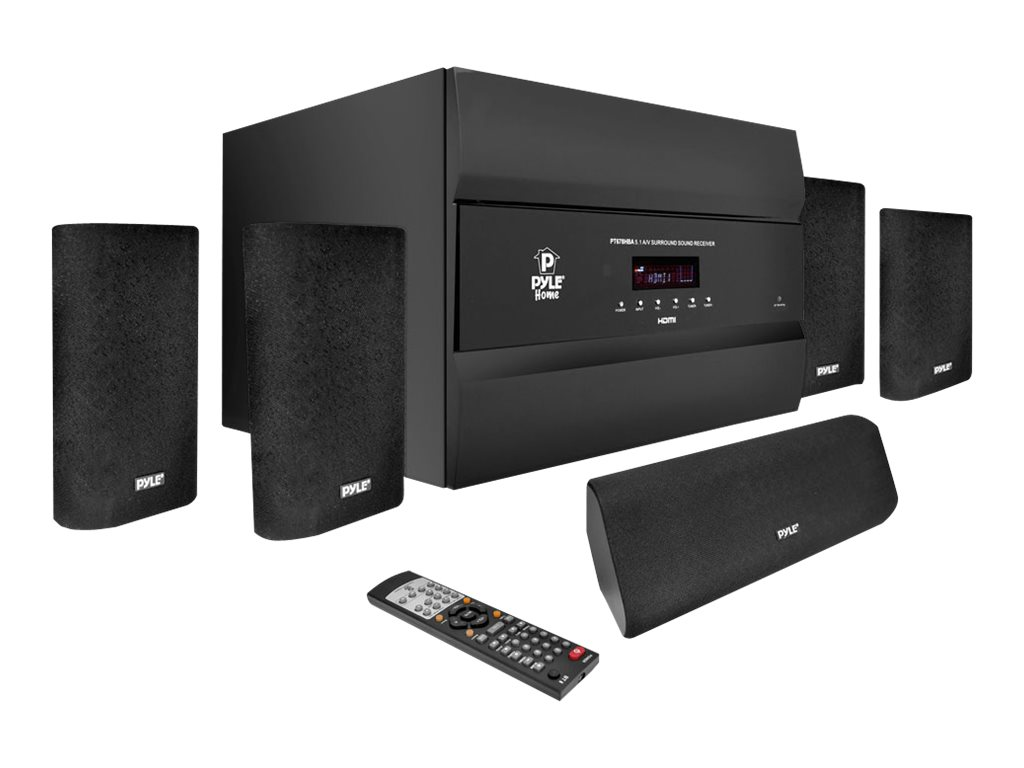 Pyle 400 Watts 5.1 Channel HDMI Home Theater System With Bluetooth Audio Playback