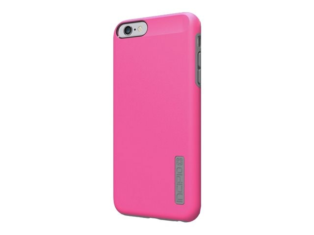 Incipio DualPro Hard Shell Case w  Impact Absorbing Core for iPhone 6 6S Plus, Pink Charcoal