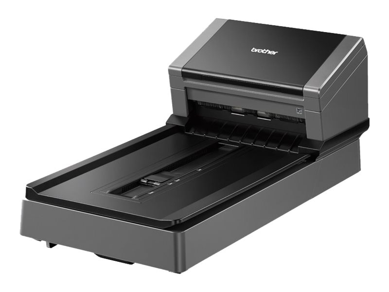 Brother Color Duplex Document Scanner with Flatbed for High Scan Volume Environments