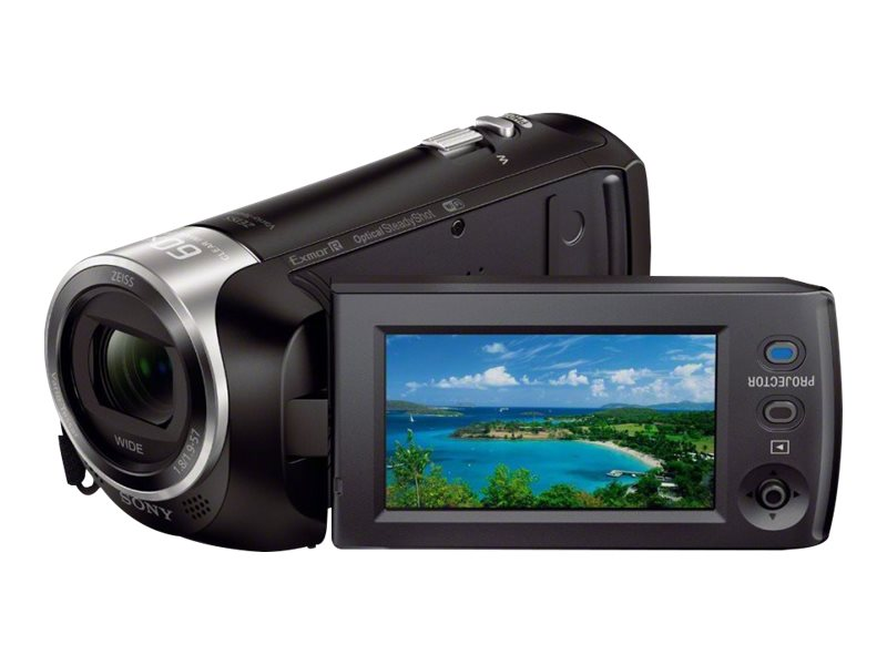 Sony HD Handycam with Built-In Projector and 8GB Internal Memory, HDRPJ440/B, 19287742, Camcorders