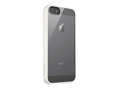 Belkin View Case for iPhone 5 5s, Clear Whiteout, F8W153TTC07