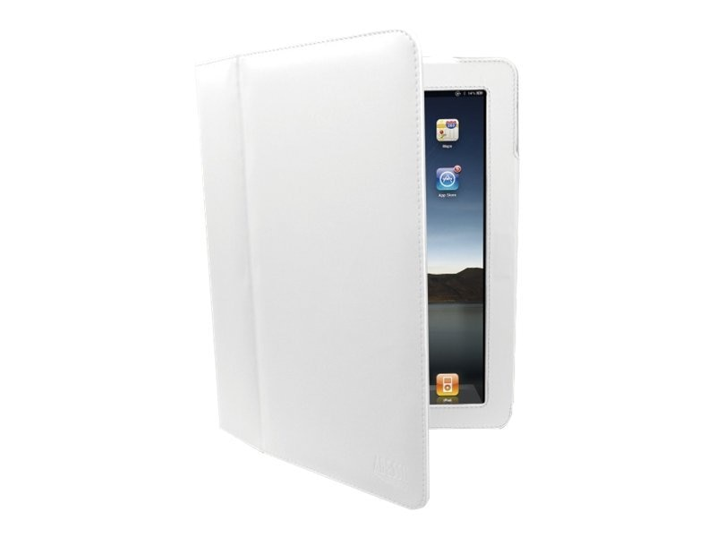 Adesso Case for iPad iPad2, White, ACS110FW, 13640349, Carrying Cases - Tablets & eReaders