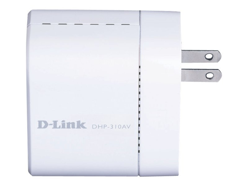 D-Link PowerLine AV Mini Adapter Starter Kit, DHP-311AV, 13190843, Network Starter Kits