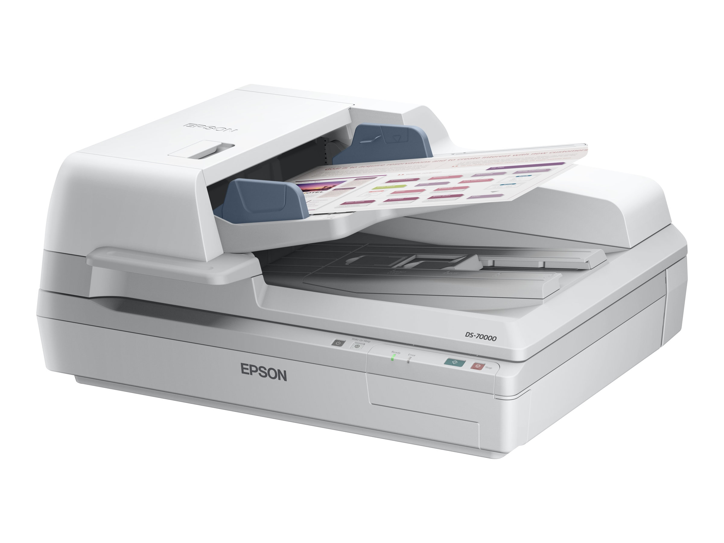 Epson WorkForce DS-70000 Scanner - $3999 less instant rebate of $100.00, B11B204321