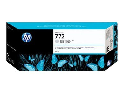HP 772 300-ml Light Gray Designjet Ink Cartridge, CN634A, 11444248, Ink Cartridges & Ink Refill Kits