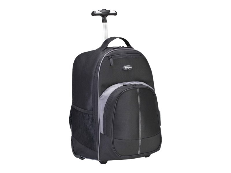 Targus Compact Rolling Backpack, Black, TSB750US