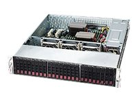 Supermicro SuperChassis 216BE26 2U RM (2x)Intel AMD 24x2.5 HS Bays 7xExpansion Slots 3xFans 2x1280W RPS, CSE-216BE26-R1K28LPB, 15274143, Cases - Systems/Servers
