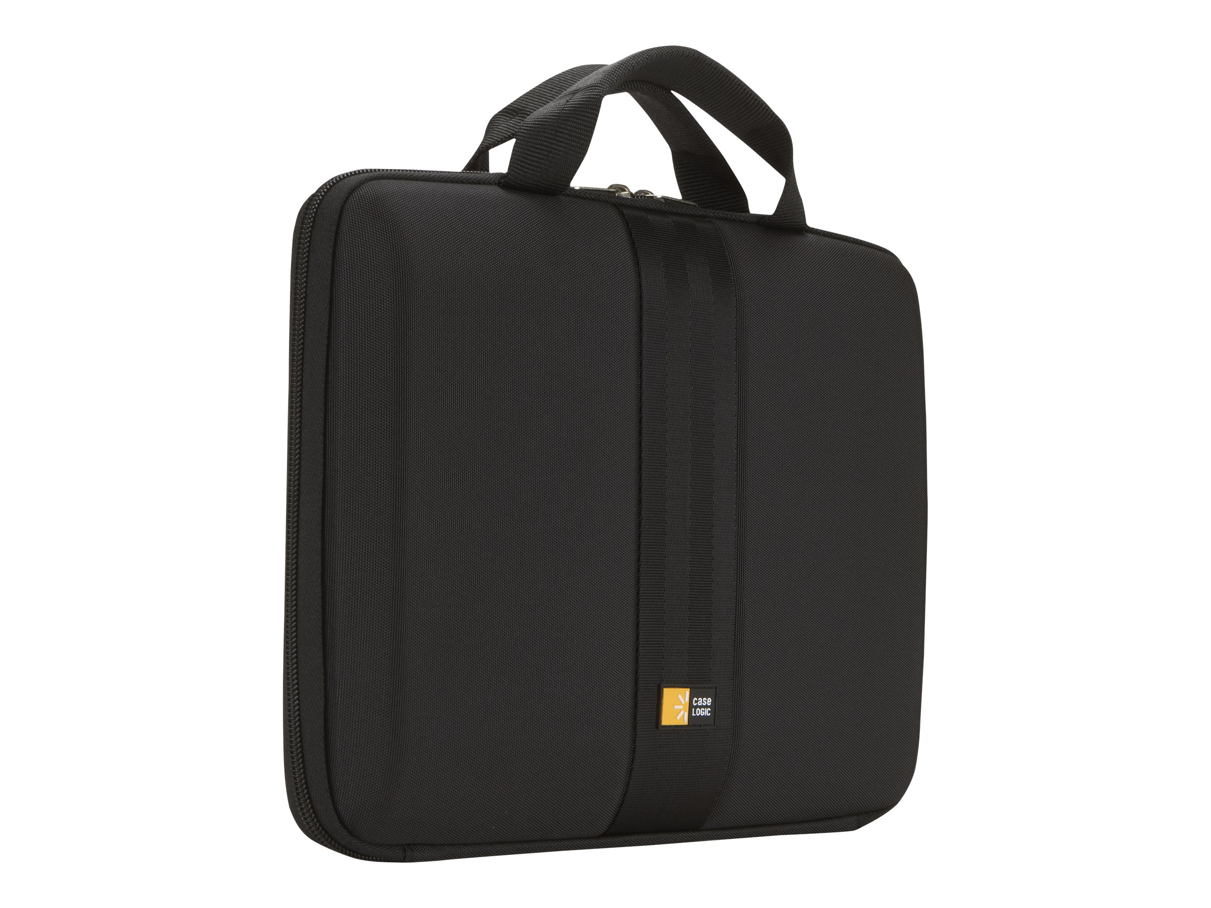 Case Logic 12 Molded Chromebook Tablet Sleeve Case, Black, QNS-111BLACK, 11819935, Carrying Cases - Notebook