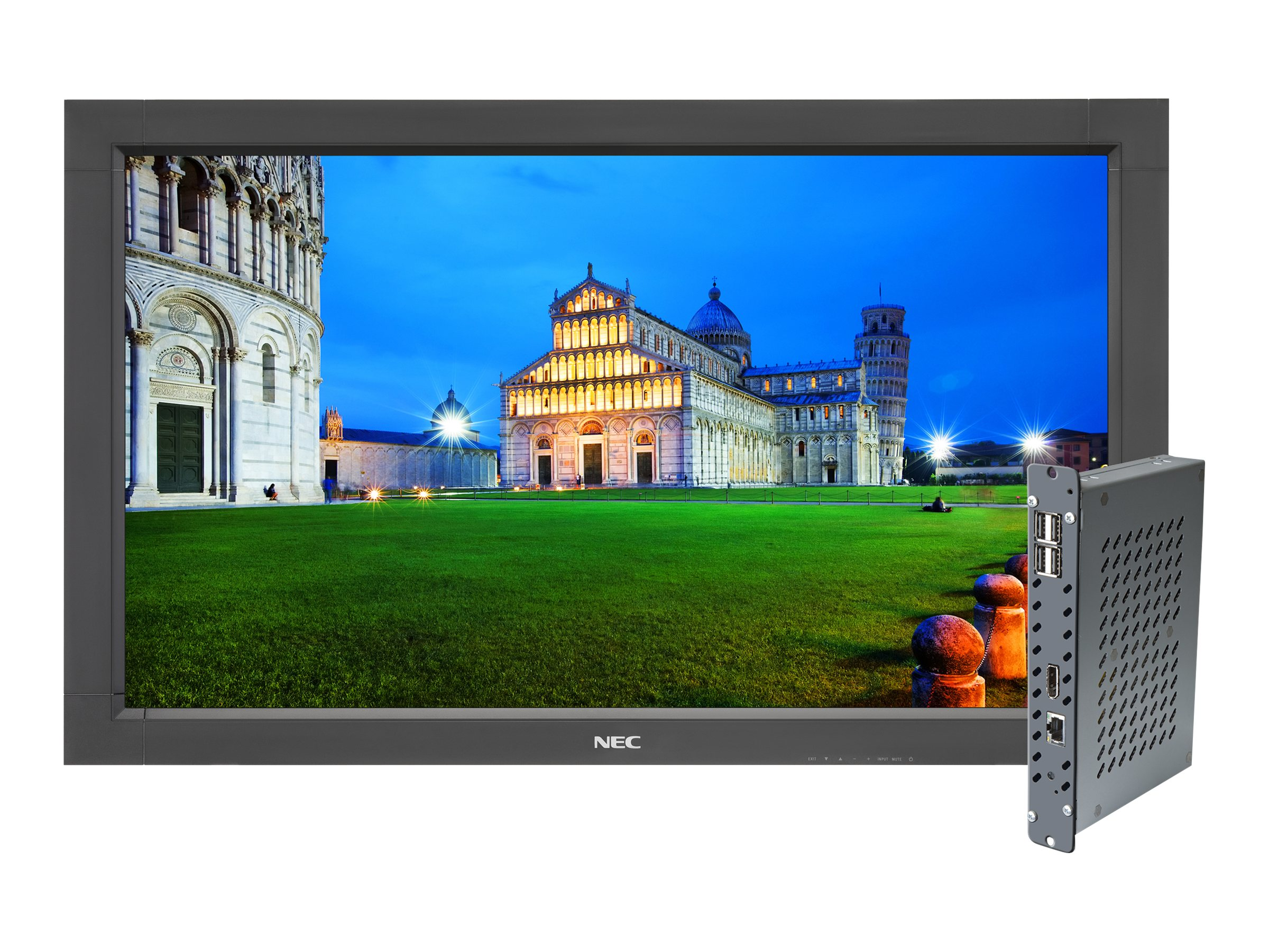 NEC 32 V323-PC Full HD LED-LCD Monitor, Black with Integrated Computer, V323-PC