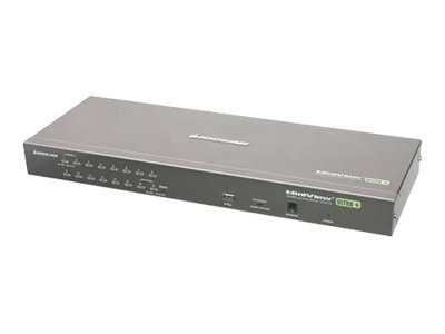 IOGEAR 16-Port USB PS 2 Combo KVM Switch, GCS1716, 9172546, KVM Switches