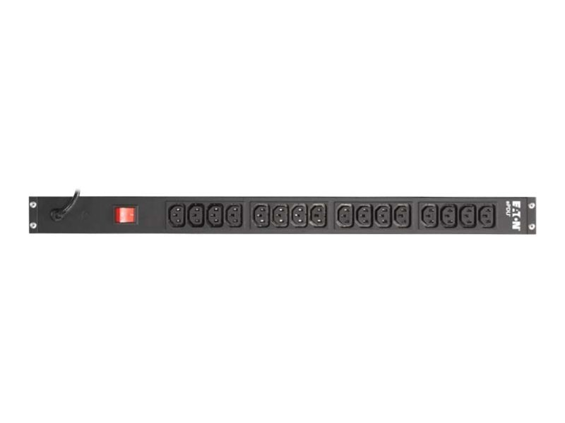 Eaton Basic ePDU Value Line 1.44kW 100-240V 12A 0U Vertical C14 Input 9ft Cord (16) C13 Outlets, EPBZ89, 11527342, Power Distribution Units