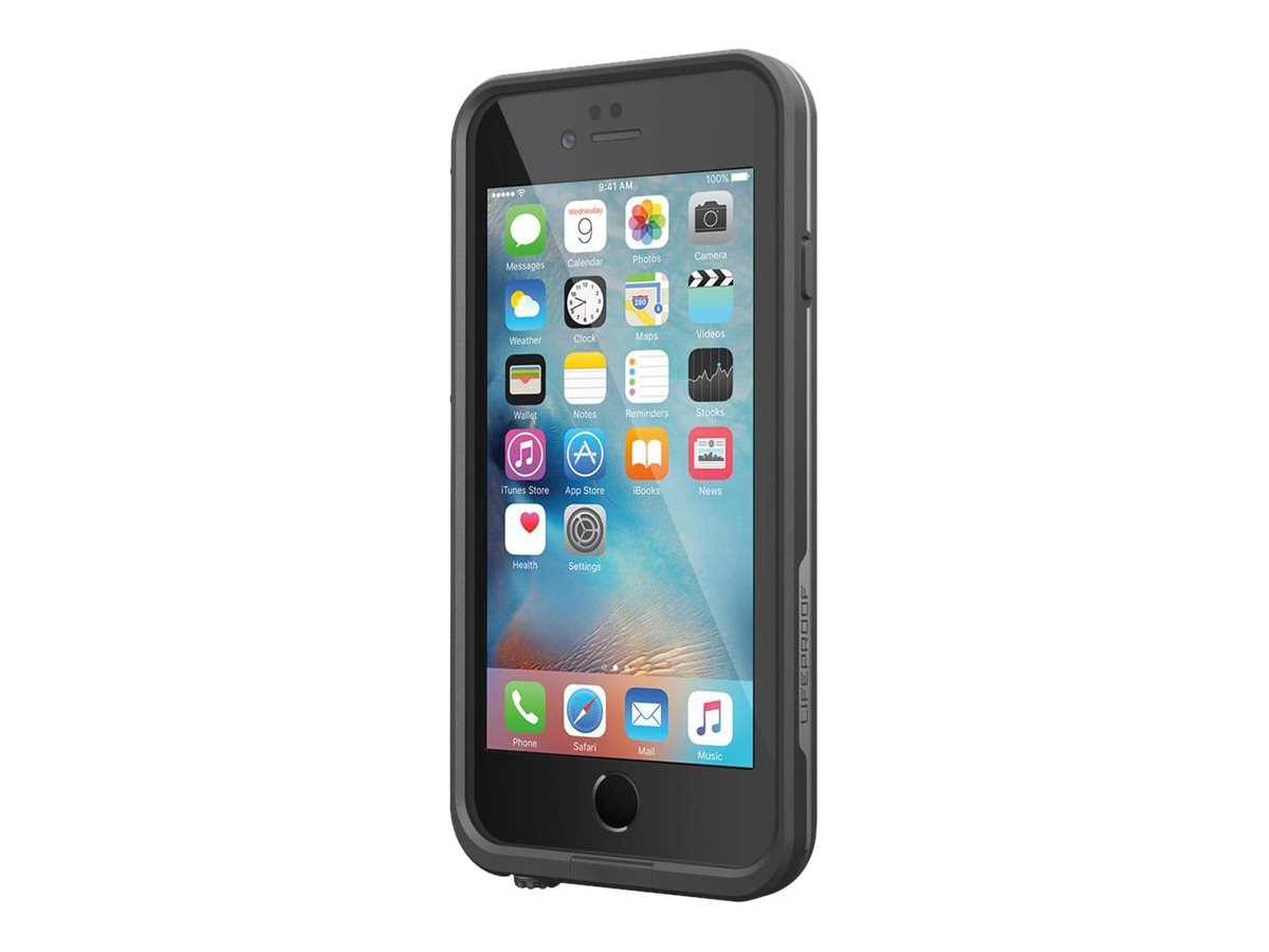 Lifeproof fre Case for iPhone 6 Plus 6s Plus, Black, 77-52558, 30973807, Carrying Cases - Phones/PDAs