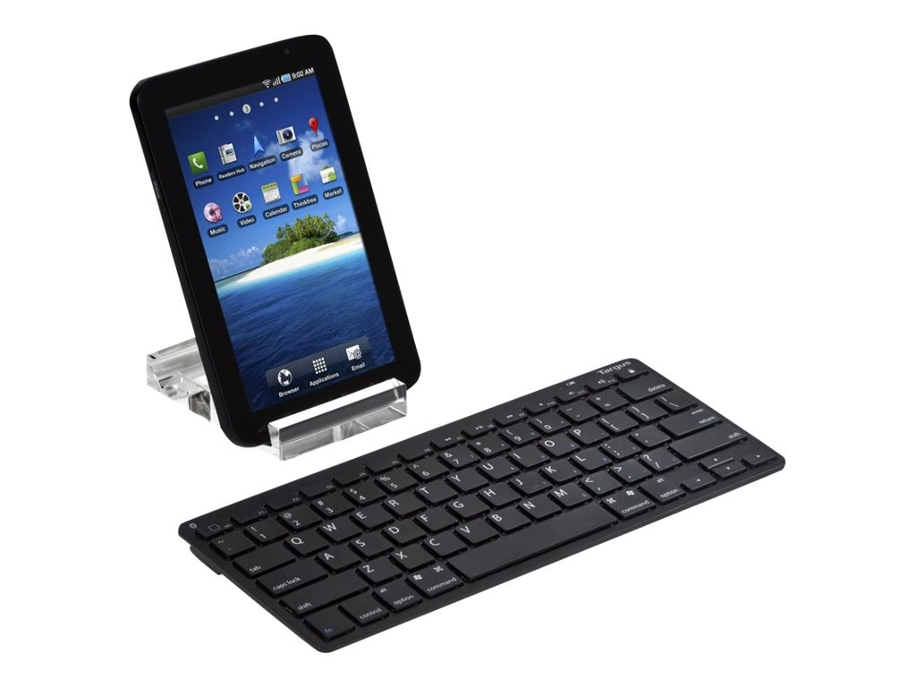 Targus Bluetooth Wireless Keyboard for Tablets, AKB33US, 12704179, Keyboards & Keypads