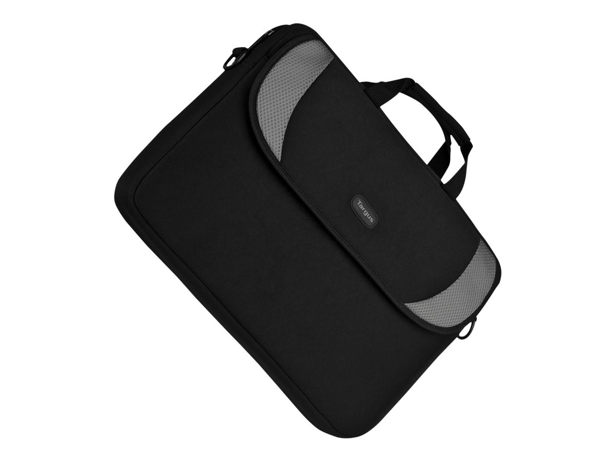 Targus 16 Notebook Sleeve, Black Gray, CVR200