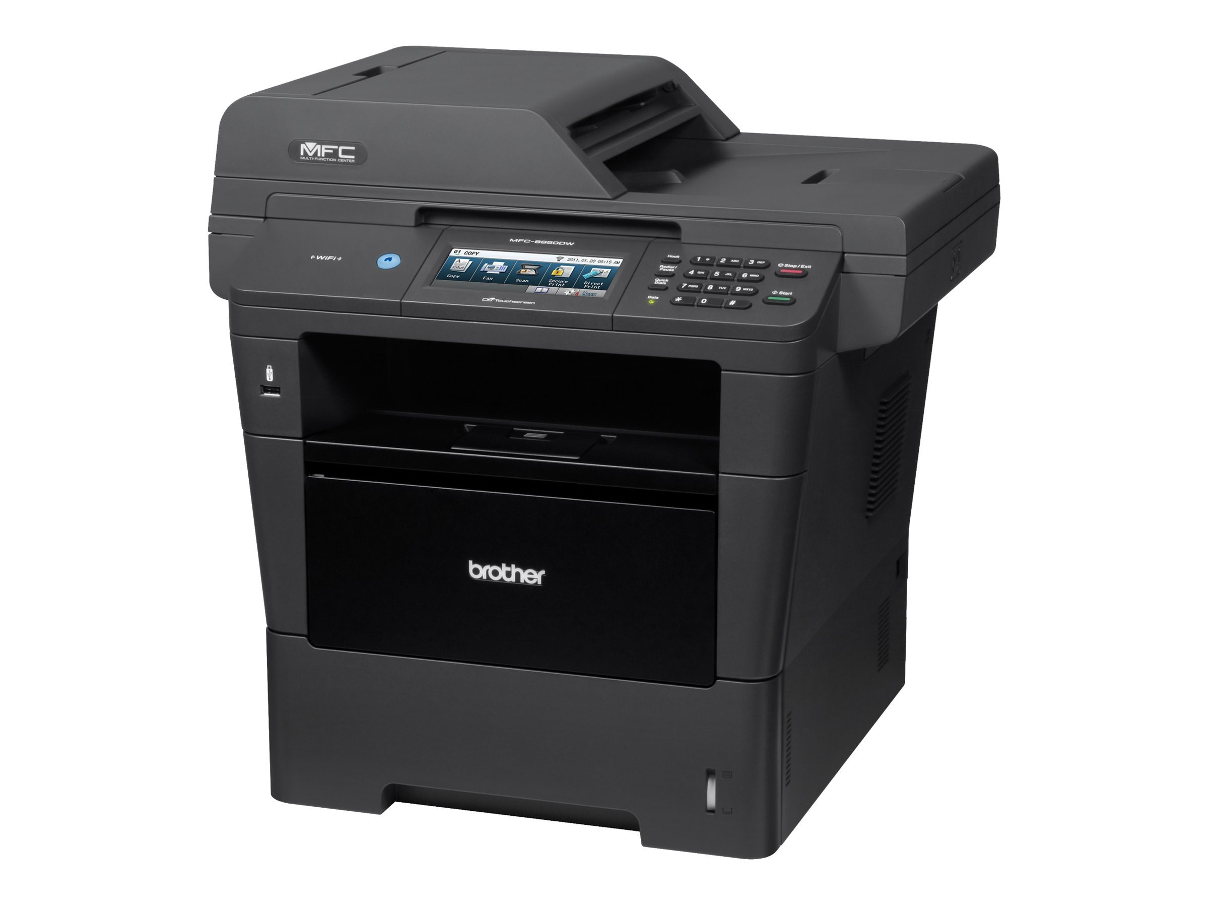 Brother MFC-8950DW Laser All-In-One, MFC-8950DW, 14417430, MultiFunction - Laser (monochrome)