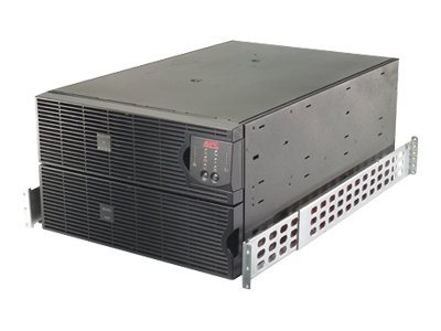 APC Smart-UPS RT 8000VA 6400W 6U Rack Tower 208V UPS HW Input Output with (2) L6-20R (2) L6-30R Outlets, SURT8000RMXLT6U, 8352078, Battery Backup/UPS