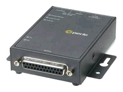Perle IOLAN DS1 DB25F 1-Port Media Converter, SVER EIA-232 422 485, 04030134, 5966921, Network Transceivers