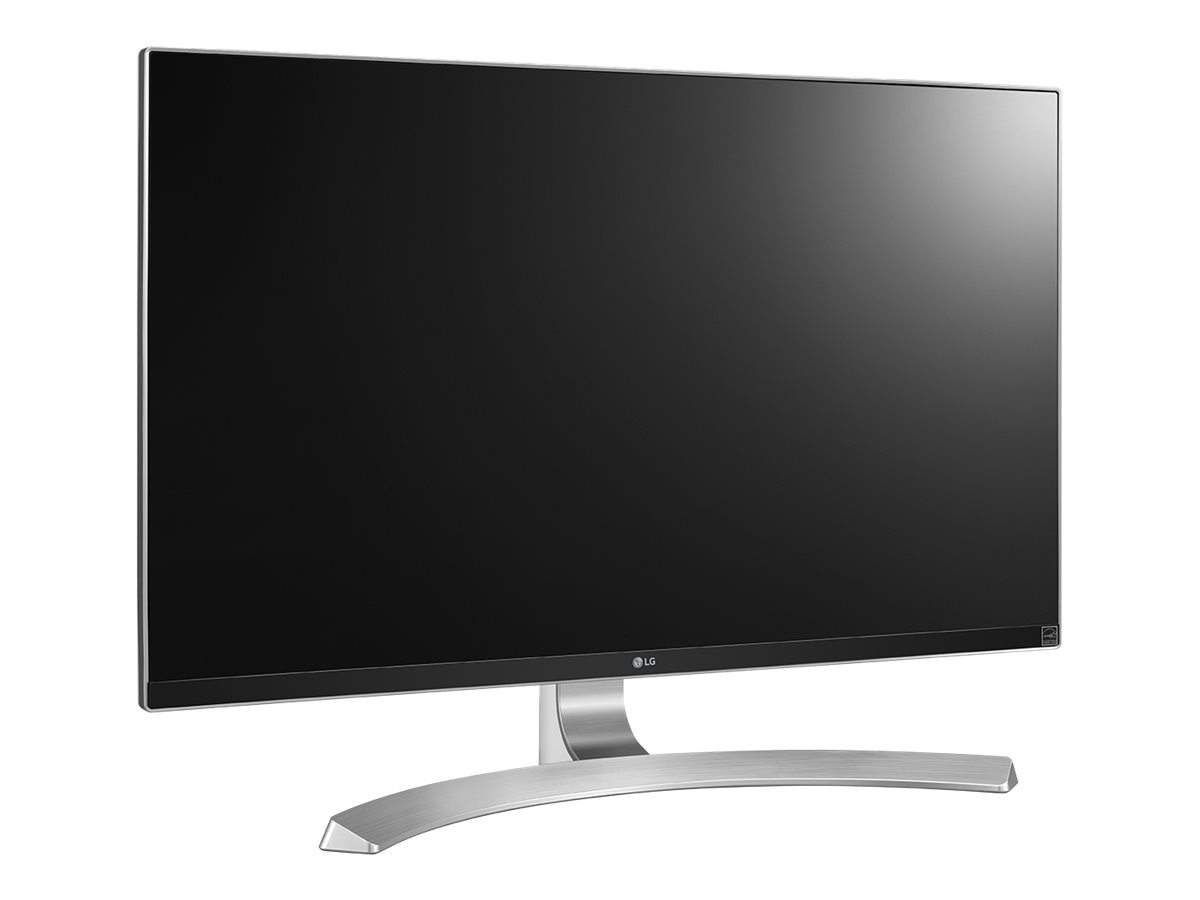 LG 27 MU88-W 4K Ultra HD LED-LCD Monitor, Silver, 27MU88-W