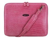 Mobile Edge Faux-Croc TechStyle Portfolio, Pink, MEPFCX, 5873185, Carrying Cases - Notebook
