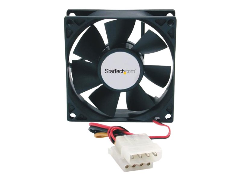 StarTech.com Cooling Fan, 8cm, High Airflow with Ball Bearings, FANBOX, 161088, Cooling Systems/Fans