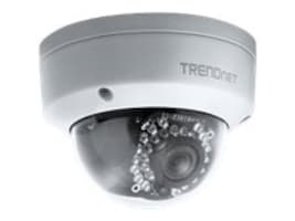 TRENDnet Indoor Outdoor 3 MP Full HD PoE Dome Day Night Network Camera, TV-IP311PI, 16881691, Cameras - Security