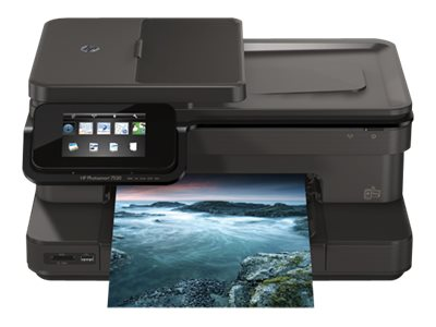 Refurb. HP Photosmart 7520 e-All-In-One Printer, CZ045AR#B1H, 30593011, MultiFunction - Ink-Jet