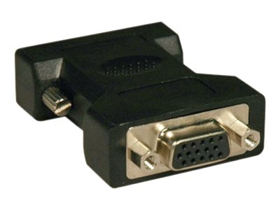 Tripp Lite DVI-A Analog to VGA M F Adapter, Black, P120-000, 286007, Adapters & Port Converters