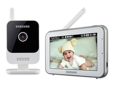 Samsung RealVIEW IR Night Vision Baby Video Monitoring System with 5 Touchscreen Display, SEW-3042W