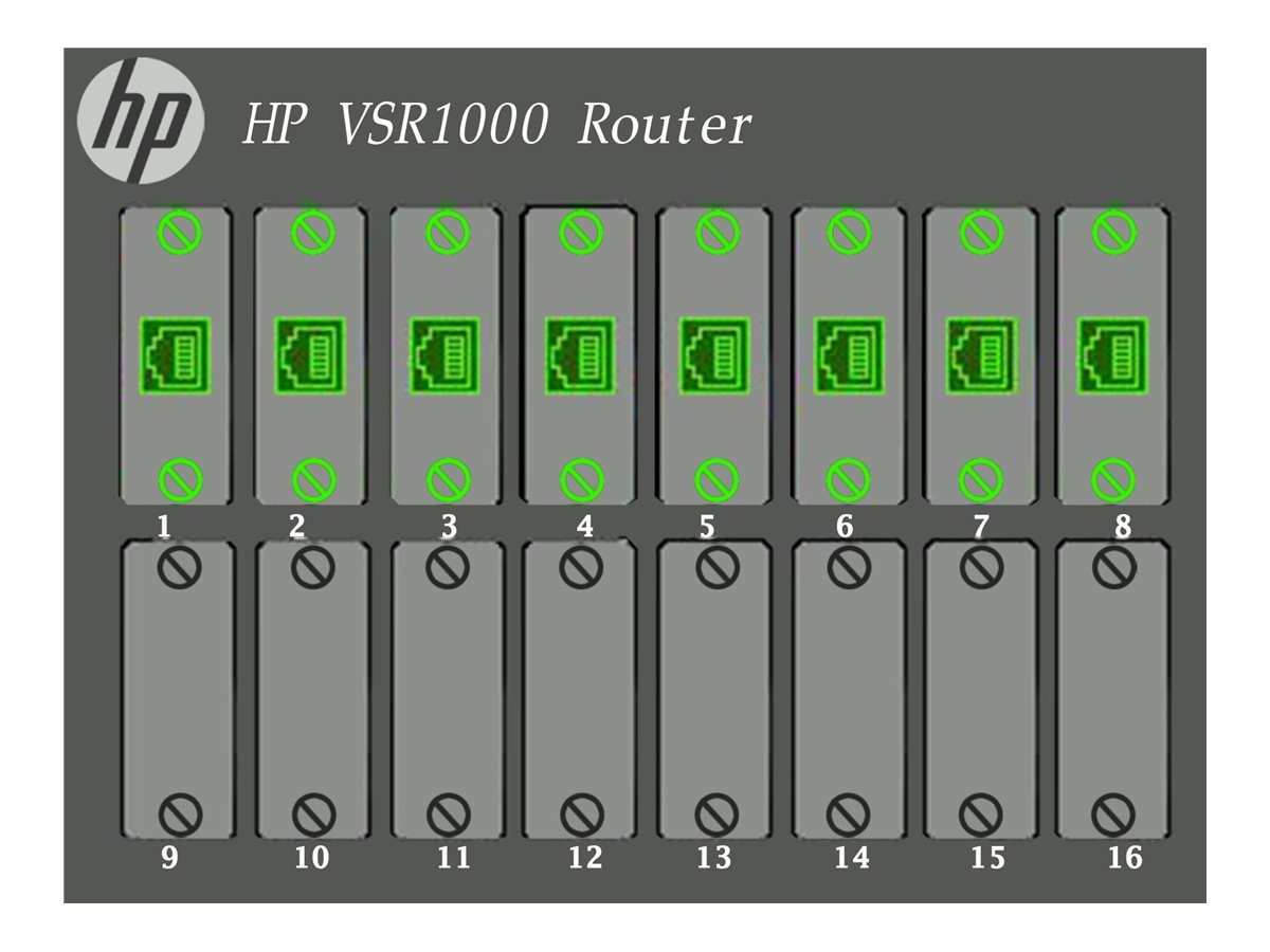 HPE VSR1004 Comware 7 Virtual Services Router E-LTU