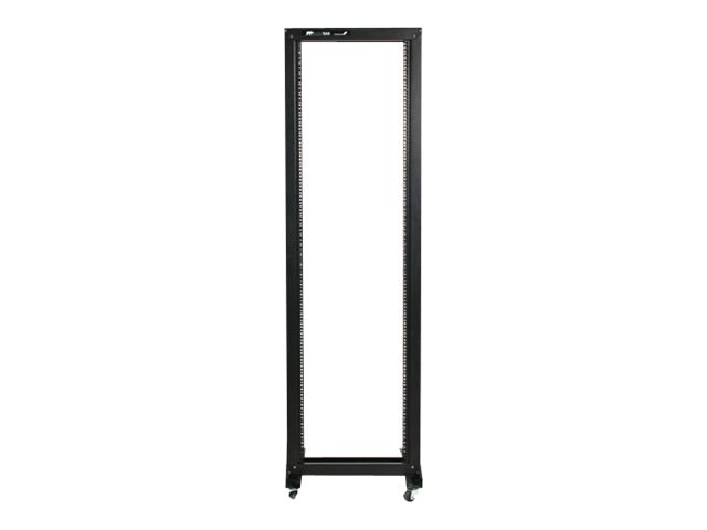 StarTech.com 42U 2-Post Open Frame Rack with Casters