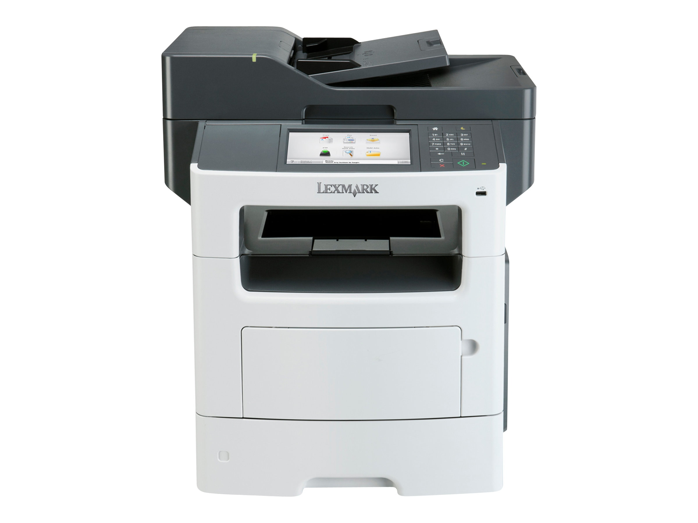 Lexmark MX611de Monochrome Laser Multifunction Printer, 35S6701