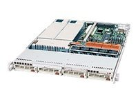 Supermicro Chassis, 1U Rackmount, CSE-814S-R560, Dual Xeon, 800MHz, 4x 1 U320 SCSI Bays, 560W RPS, Beige, CSE-814S-R560, 6461107, Cases - Systems/Servers