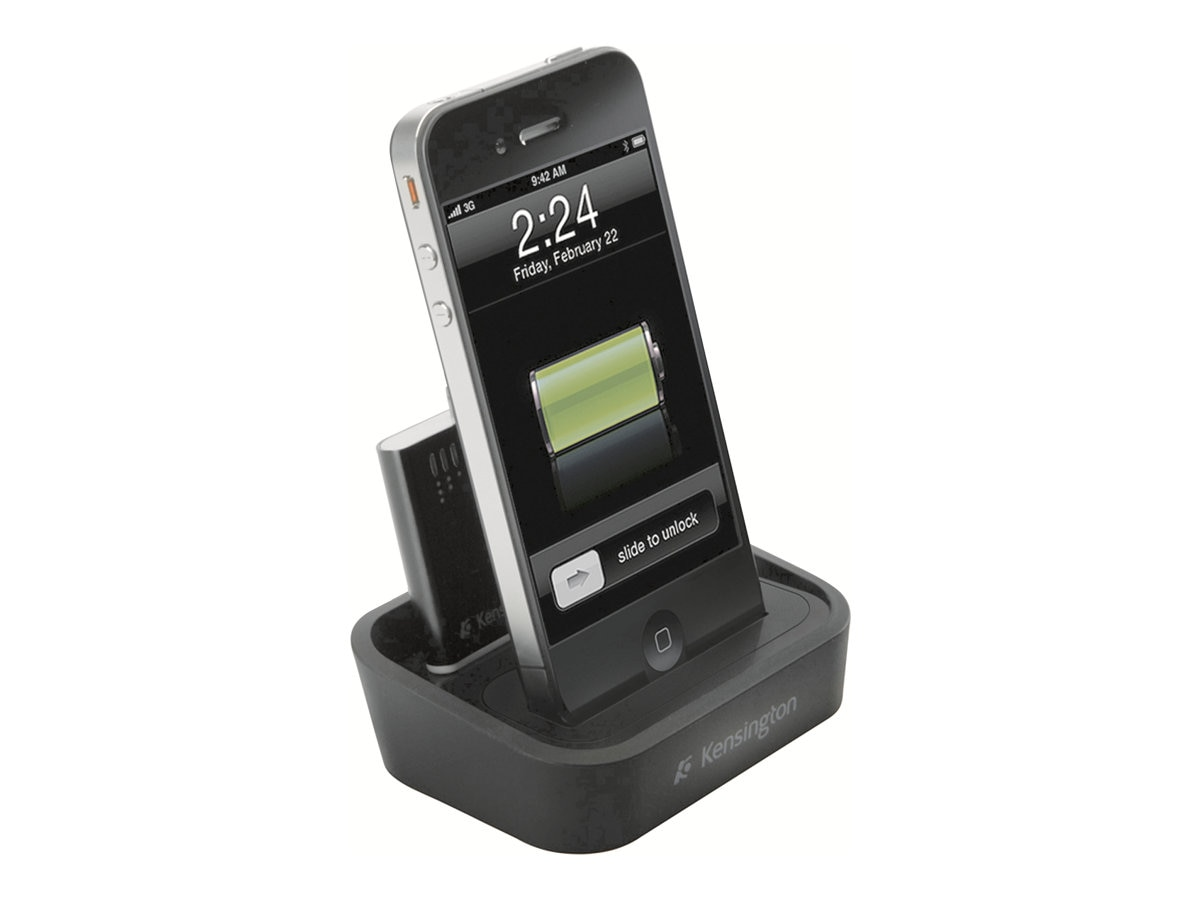 Kensington Charging Dock with Mini Battery Pack for iPhone and iPod, K39265US