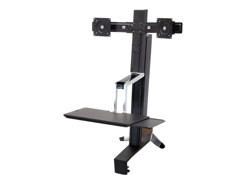 Ergotron Workfit-S Dual Sit-Stand Workstation, 33-341-200