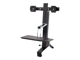 Ergotron Workfit-S Dual Sit-Stand Workstation, 33-341-200, 11799815, Ergonomic Products