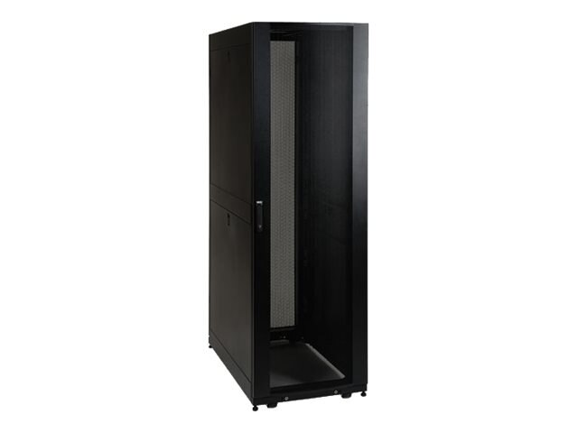 Tripp Lite SmartRack Premium Enclosure, Doors and Side Panels, 45U, Black, Instant Rebate - Save $100