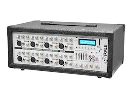 Pyle 8-Channel 800 Watt BT Mixer w  Mic, Line Inputs, USB & SD Card Readers, PMX840BT, 17259895, Stereo Components