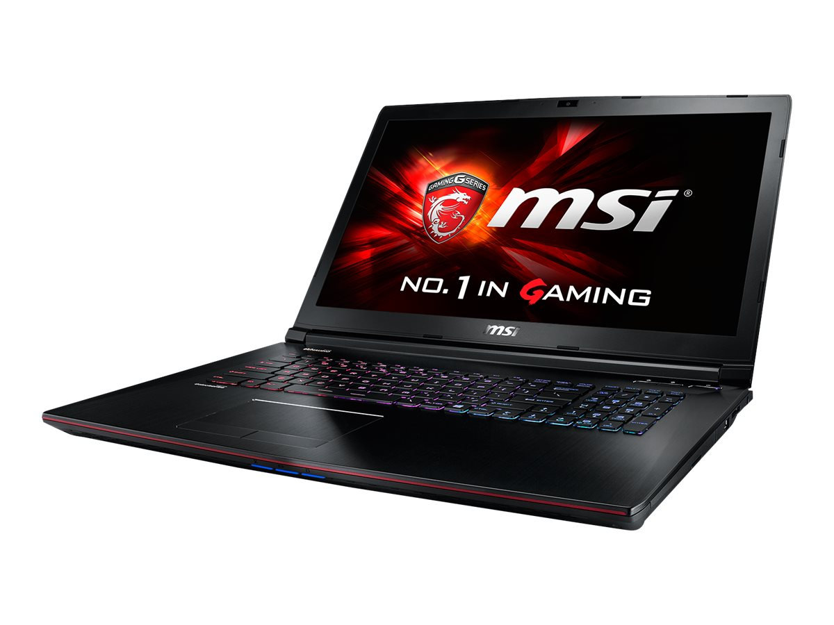 MSI GE72 APACHE-235 I7-5700 1TB HD SYSTDVDRW 17IN BLK 1080P GTX 960M, GE72 APACHE-235, 27569213, Notebooks