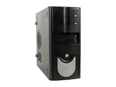 In-win Chassis, Mid-Tower, 8 Bays, ATX, 300W PS, Black, C720T.J300BFU2AD, 6383911, Cases - Systems/Servers