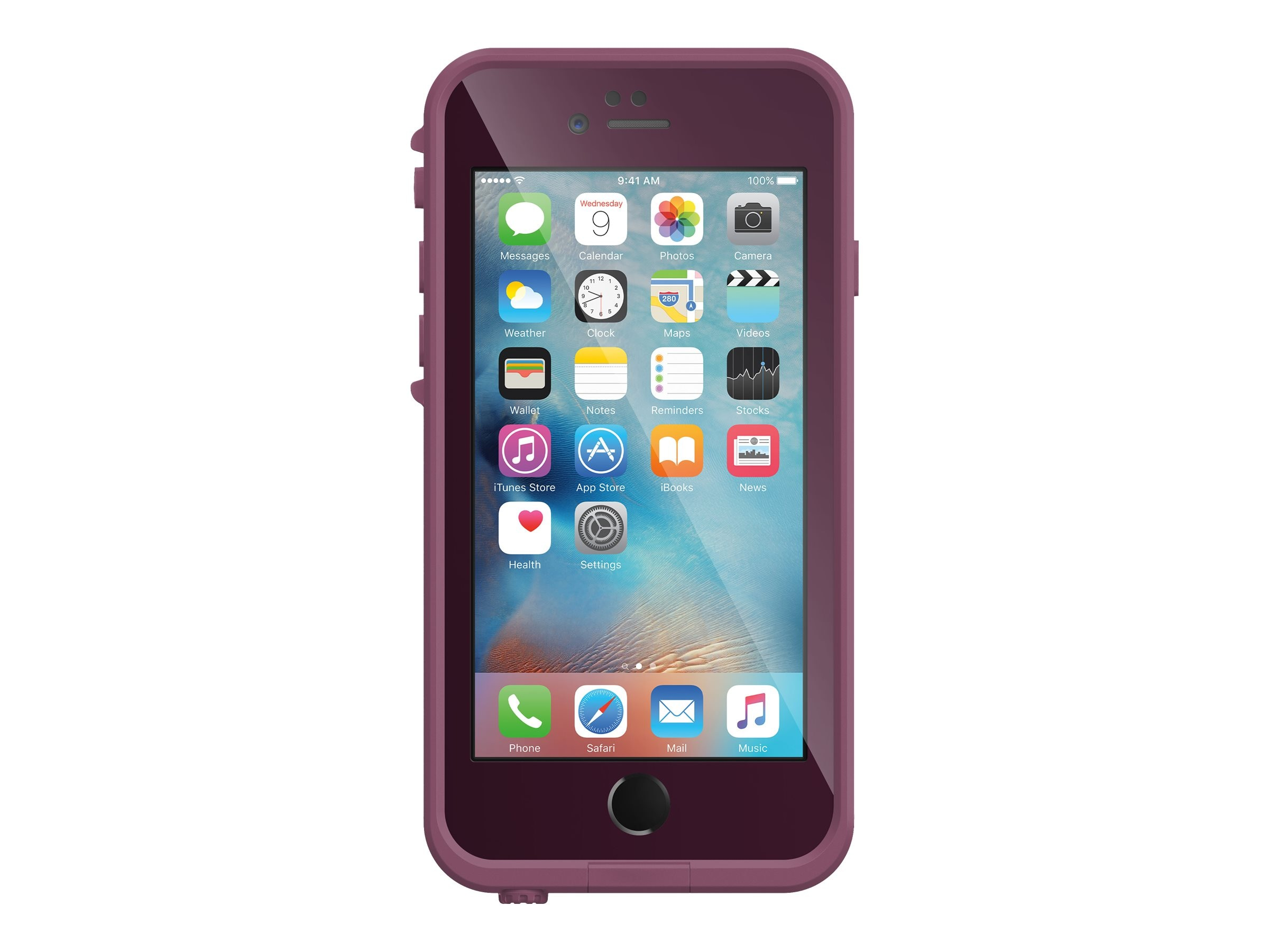 Lifeproof fre Case for iPhone 6 Plus 6s Plus, Crushed, 77-52562, 30973840, Carrying Cases - Phones/PDAs