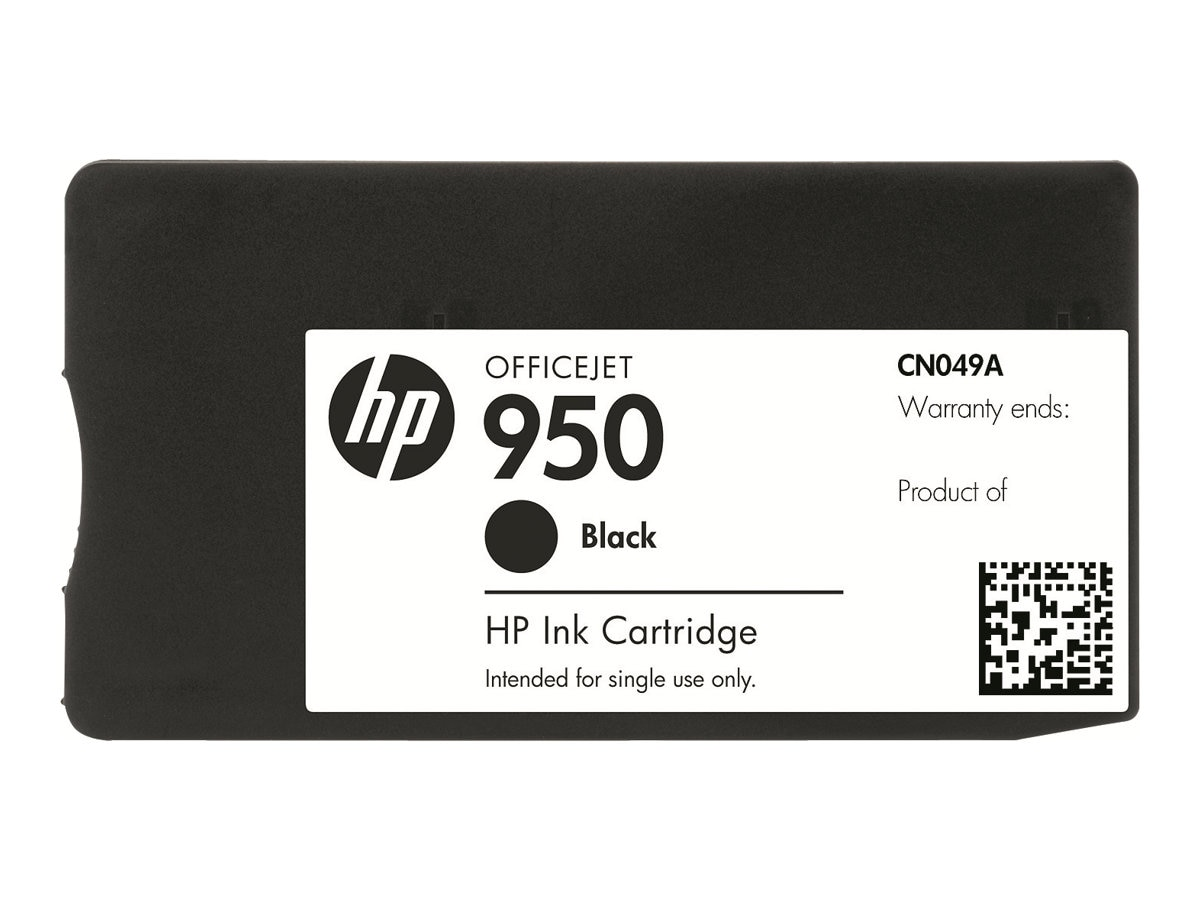HP 950 (CN049AN) Black Original Ink Cartridge, CN049AN#140, 12974291, Ink Cartridges & Ink Refill Kits