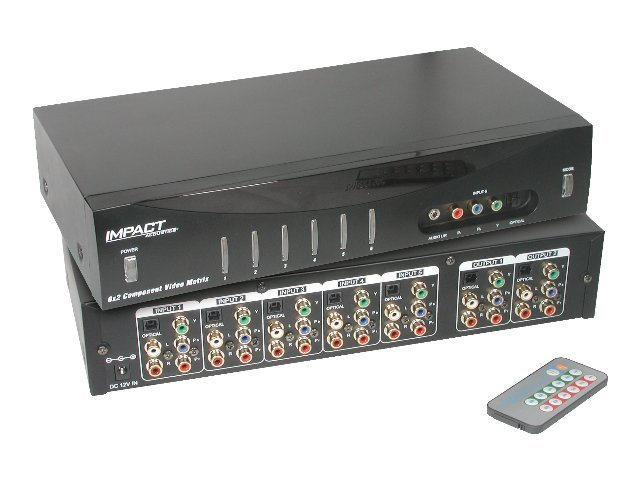 C2G 6x2 Component Video Matrix Selector Switch