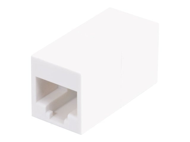 C2G Cat5E RJ45 Modular Inline Coupler, White, 20202, 18385287, Cable Accessories