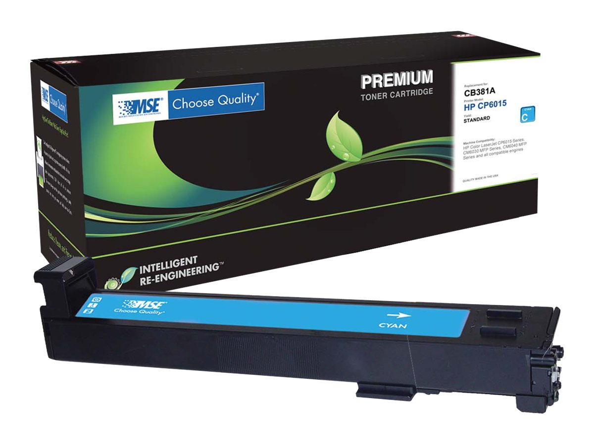 CB381A Cyan Toner Cartridge for HP LaserJet 6015