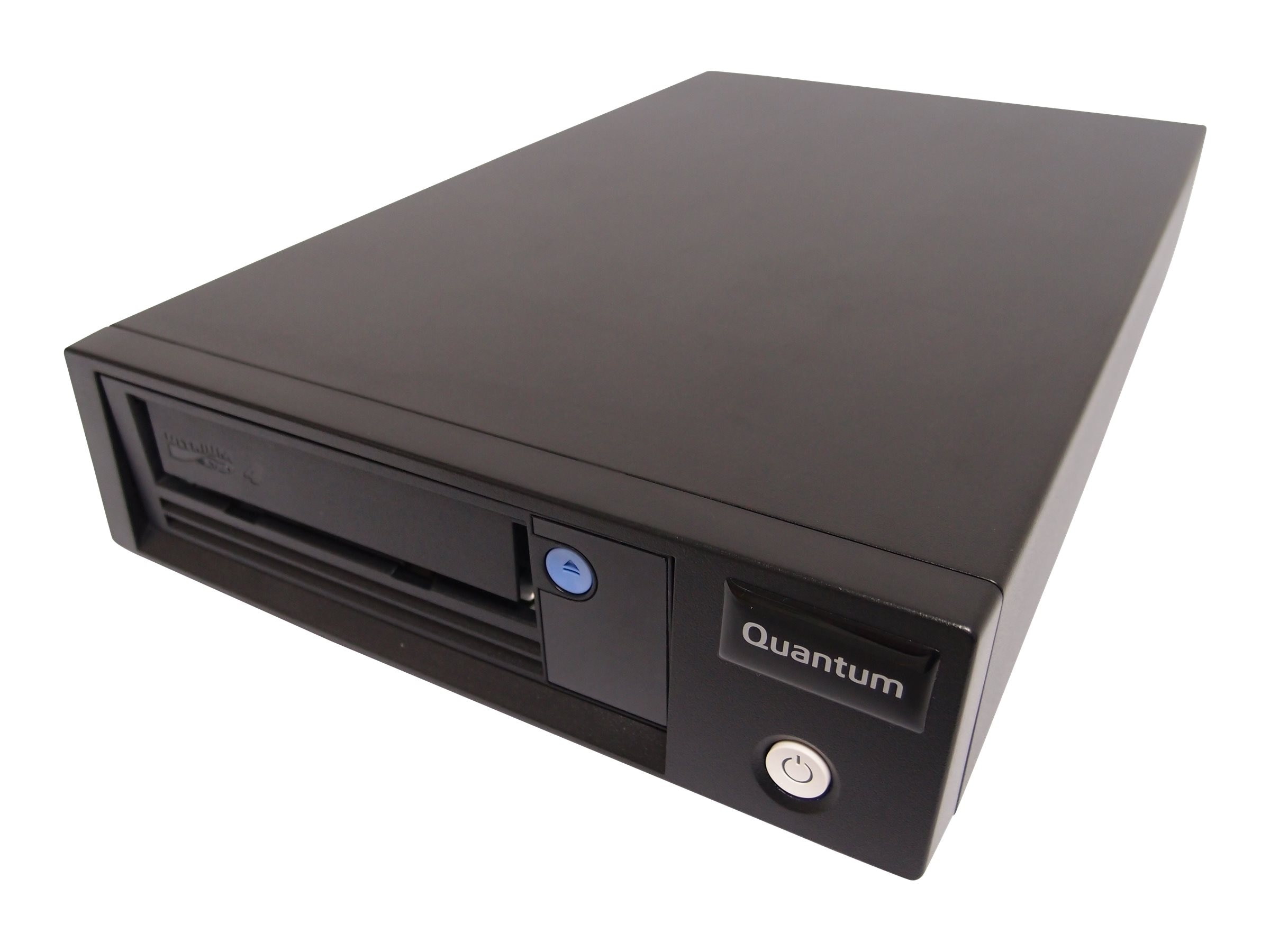 Quantum LTO-4 HH Model C SAS Tabletop Tape Drive Kit - Black Bezel, TC-L42BN-EY-C, 17350120, Tape Drives
