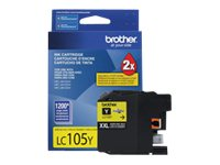 Brother Yellow LC105Y Innobella Super High Yield (XXL Series) Ink Cartridge for MFC-J4510DW, LC105Y, 14714848, Ink Cartridges & Ink Refill Kits